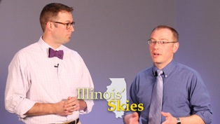 """Illinois' Skies"" hosts Chris Laingen and Cameron Craig"