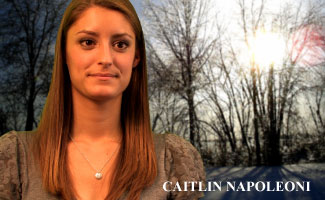 Caitlin Napoleoni, Geography Major